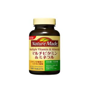 大塚製薬 ネイチャーメイド マルチビタミン&ミネラル 100粒|fukuei