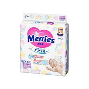 メリーズ さらさらエアスルーテープ 新生児用  90枚入り  fukuei