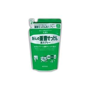 ミヨシ 暮らしの重曹せっけん 泡スプレー つめかえ用 230ml |fukuei