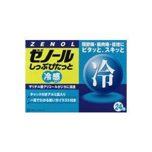 大鵬薬品工業(株)   ゼノールしっぷぴたっと 24枚(第3類医薬品)|fukuei