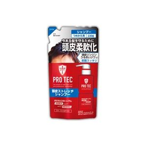 PRO TEC(プロテク) 頭皮ストレッチシャンプー つめかえ用