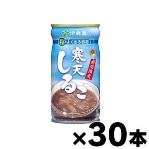 伊藤園 寒天しるこ 185g 缶×30本 fukuei