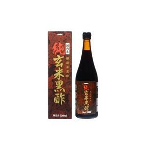 オリヒロ 純玄米黒酢 720ml|fukuei