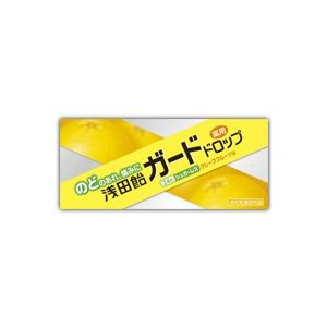 浅田飴 ガードドロップ グレープフルーツ味 24粒 (医薬部外品) |fukuei