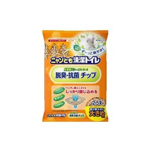 花王 ニャンとも清潔トイレ 脱臭・抗菌チップ 大きめの粒 2.5L fukuei