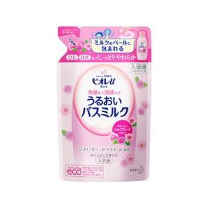 花王 ビオレU 家族みんなのすべすべバスミルク ミルクローズの香り つめかえ用 480ML|fukuei