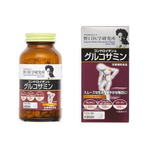 野口医学研究所 コンドロイチン&グルコサミン 390粒(約30日分) fukuei