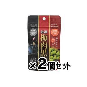 (メール便送料無料)厳選 梅肉黒酢 30粒×2個セット|fukuei