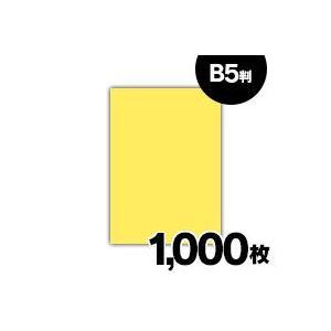 紀州 色上質紙 やまぶき 特厚口 110kg B5 1000枚|fukuei