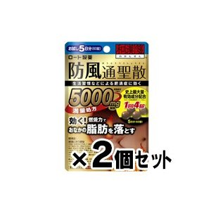 (メール便送料無料)新・ロート 防風通聖散錠満量 60錠×2個セット (第2類医薬品)|fukuei