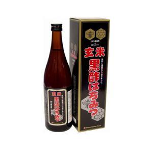 ミナミヘルシーフーズ 玄米黒酢はちみつ 720ml(お取り寄せ品)|fukuei