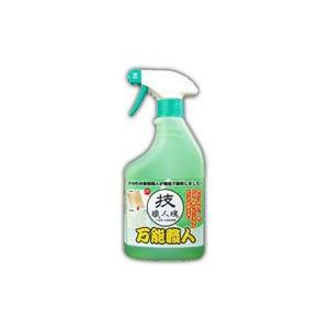 ○商品説明:・・ 「技職人魂 万能職人 多目的合成洗剤 500ml」は、お掃除する方を選ばない、ハウ...