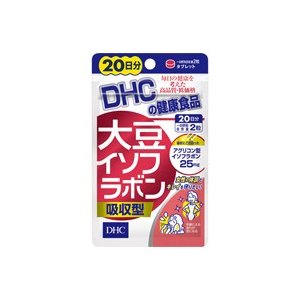 DHC 大豆イソフラボン吸収型 20日分 40粒 fukuei