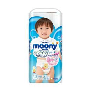 ムーニーマン エアフィット パンツ 男の子用 ビッグサイズ 38枚入り |fukuei