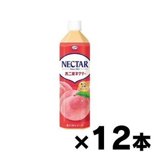 伊藤園 不二家ネクター ピーチ PET 900ml×12本 fukuei