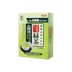 日清オイリオ食事のおともに食物繊維入り緑茶60包|fukuei