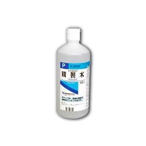 日本薬局方 健栄製薬 精製水 ワンタッチ式キャップ 500ml (第3類医薬品)