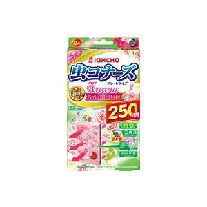 虫コナーズ アロマ プレートタイプ 250日用 フレッシュフローラルの香り |fukuei