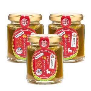 梅のコンフィチュール 100g×3個セット 国産梅 ジャム 阿部農縁|fukufukugenki