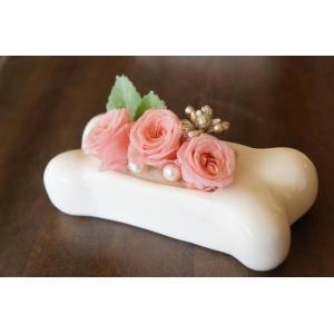 ペット用ボーン型お花入れ「Bony vase」|fukufukuyama