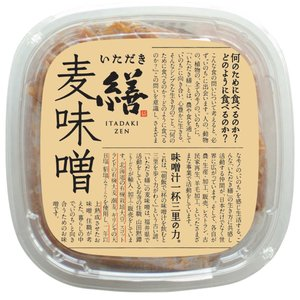 潮麦味噌 800g|fukui-koshino