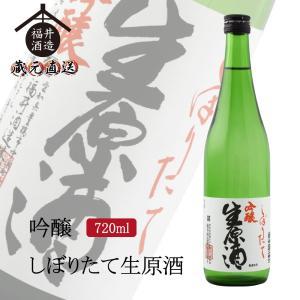 日本酒 吟醸 四海王 しぼりたて生原酒 720ml ギフト 贈り物 に最適|fukui-syuzo