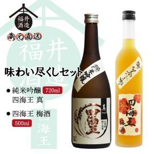 蔵元直送 日本酒 四海王 味わい尽くしセット ギフト 贈り物 に最適|fukui-syuzo