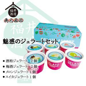 魅惑のジェラートセット (冷凍) ギフト 贈り物 に最適|fukui-syuzo