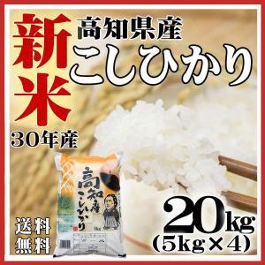 30年新米 お米5kg×4袋 新米 コシヒカリ 米 高知県産 30年産 米20kg 送料無料|fukuikomeya