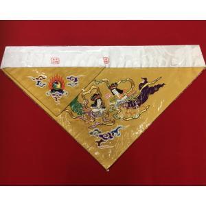 打敷 天女 本金手刺繍 大仏用 上卓7寸 前卓1尺8寸用|fukuiyashintaro