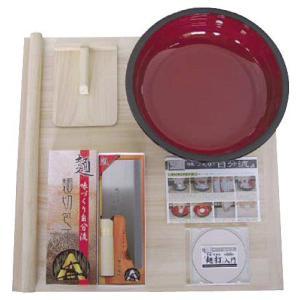 蕎麦打ち道具 家庭用 麺打ちセットA A-1230 8-0381-1101 fukuji-net