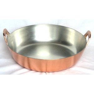 天ぷら鍋 銅 揚鍋 39cm 6-0387-0606 7-0405-0606