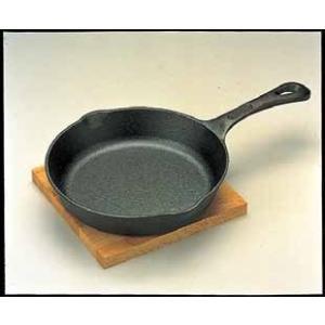 鋳鉄製 イシガキ ハンバーグ&ステーキパン355 6-1659-1501 7-1737-1301