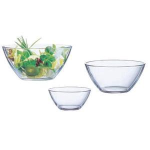 サラダボール アルコロック コスモスサラダボール23cm 00630(ガラス製) 7-1752-0206 8-1818-0205 fukuji-net