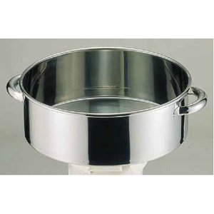 洗い桶 18-8手付洗桶 内径30cm 6-0241-0102 7-0261-0102 fukuji-net