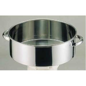 洗い桶 18-8手付洗桶 内径33cm 6-0241-0103 7-0261-0103 fukuji-net