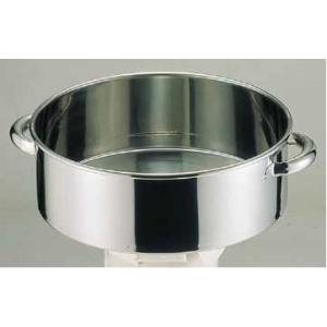 洗い桶 18-8手付洗桶 内径39cm 6-0241-0105 7-0261-0105 fukuji-net