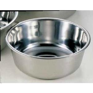 洗い桶 18-0洗桶 内径33cm 6-0241-0202 7-0261-0202 fukuji-net