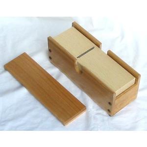 木製 業務用かつ箱(タモ材)小/かつお節削り器 7-0418-1102 8-0424-1002|fukuji-net