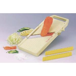 業務用 せんぎりスライスくん-野菜のスライスと千切り器 7-0626-0301 8-0634-030...