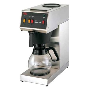 カリタ 業務用コーヒーマシンKW-25 7-0837-0501 8-0845-0501|fukuji-net