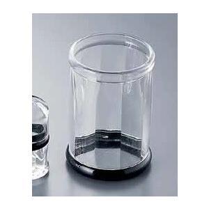 ●サイズ:φ92×H131mm ●材質:アクリル樹脂 ●耐熱温度:80℃