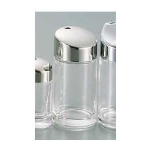 ●サイズ:直径58×高123mm ●材質:本体/ガラス、蓋/ステンレス