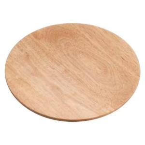 ピザ用品 木製 ピザプレートPZ-201/丸型平面のラバーウッド製25cm 7-0901-0501 8-0925-0501 fukuji-net