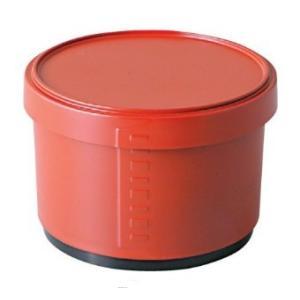 飯器 DX耐熱ワッパ飯器(小)朱ツヤ消し内黒 食器洗浄機対応 耐熱ABS樹脂 f6-282-14|fukuji-net