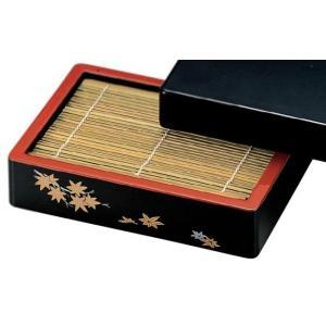 蕎麦器 DX盛ざる 紅葉 本体(底板無) もりそば ざるそば用 f5-661-9|fukuji-net