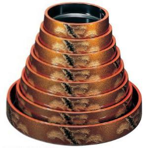 寿司桶 DX富士桶 梨地老松7寸 1人用 ABS樹脂製 f6-1135-61|fukuji-net