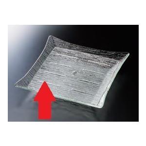 さざ波四方上り浅盛鉢 35cm鉢用目皿 ●サイズ:240×240×H6mm ●材質:アクリル樹脂 ●...