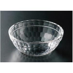Φ113 亀甲重ね丸鉢 透明 アクリル樹脂 ●サイズ:φ113×H43mm ●材質:アクリル樹脂 ●...