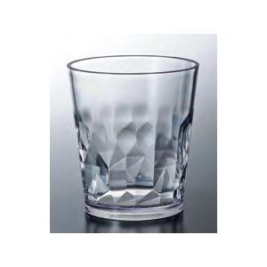 コップ・グラス クラッシュタンブラー クリア 250cc トライタン樹脂製 f6-436-4 fukuji-net